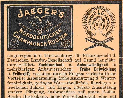 Jägers Champagnerroggen